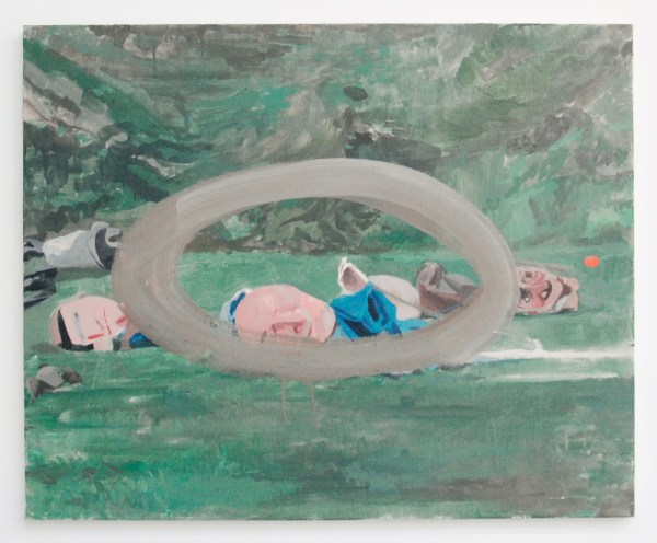 Pere Llobera - Untitled - 81x100cm Olieverf op canvas
