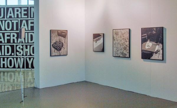 Sine van Menxel - Stilleven & Zonder Titel & IIIIII & Atelier - 90x67cm & 64x52cm Zilver gelatine prints 2016