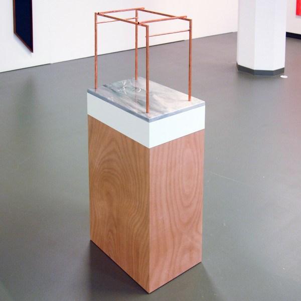 Thomas Raat - Frame Sculptures no1 tm no8 - Staal, bladkoper, graniet, okoume, MDF en verf