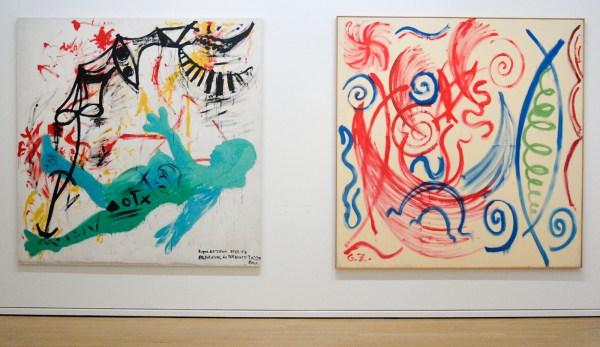 AR Penck - 1976 & 1973 (Van Abbe)