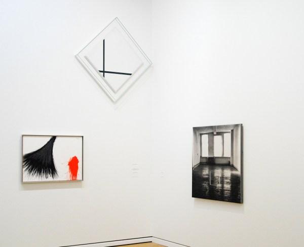 Arnulf Rainer - 1997 (schenking) & Piet Mondriaan - 1931 (Stedelijk) & Jan Dibbets - 1996 (Stedelijk)