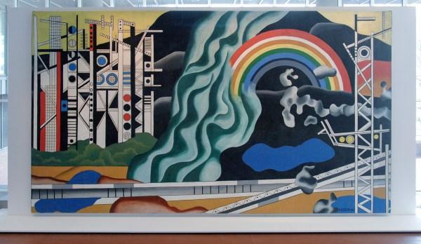 Fernand Leger - Le Transport des Forces - Olieverf op canvas, 1937