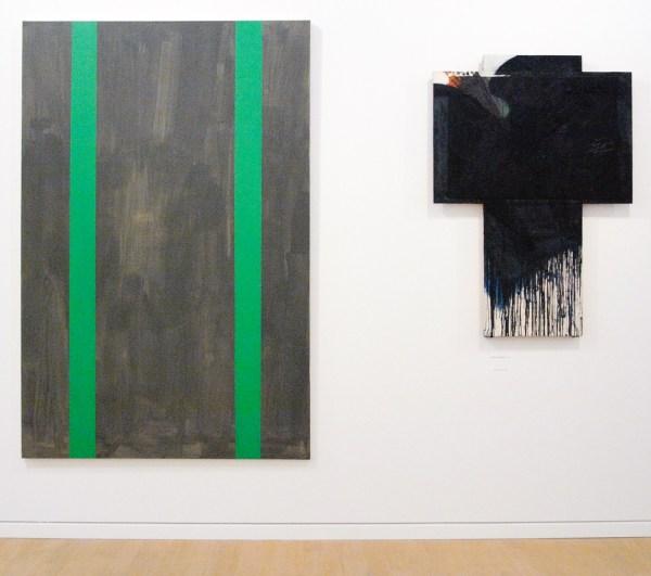 Gunther Forg - 1990 (Stedelijk) & Arnulf Rainer - 1984-1991 (Stedelijk)