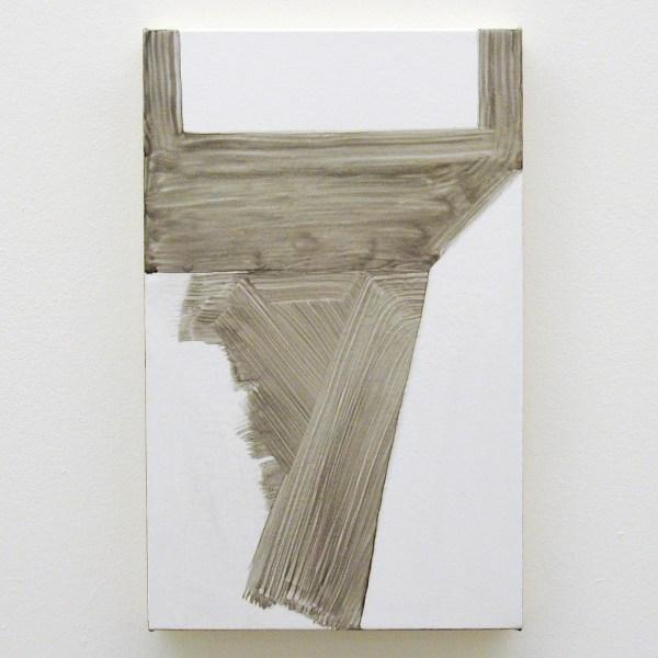 Robert Holyhead - Untitled (Nairs) - 41x26cm Olieverf op canvas