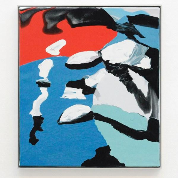 Rezi van Lankveld - EenTweeDrie - 55x48cm Olieverf op canvas