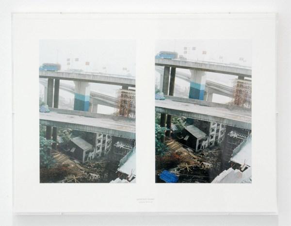 Aglaia Konrad - Undecided Frames (Changging 2006) - Digitale print gemonteerd op archiefkarton, stempel en plexidoos, 2013