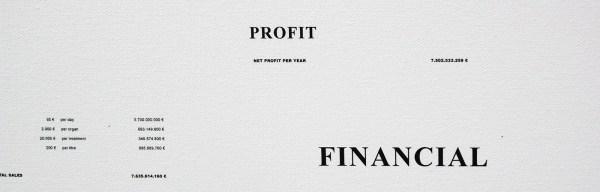 Atelier van Lieshout - SlaveCity, Business plan - Inkt op doek (detail)