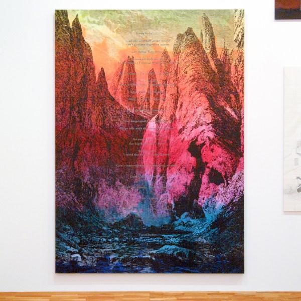 Friedrich Kunath - Return to Forever - 290x208cm Acrylverf op doek