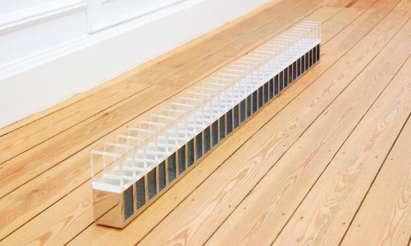 Guy Mees - 31X (60x60x6) plexiglas, 31X (60x60x6) chrome - Chrome en plexiglas, 1968-1970