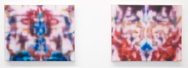 Robert Roest - Pli & Gord - 40x50cm Olieverf op canvas (detail)