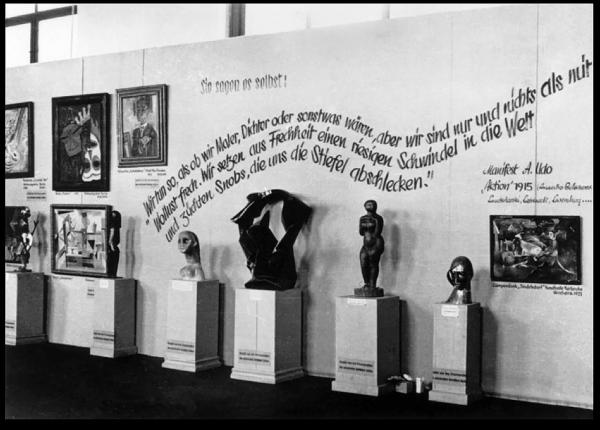 1937 - Wolfgang Willrich - Entartete Kunst