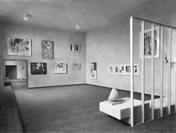 1938 - Willem Sandberg - Abstracte Kunst, Stedelijk Museum