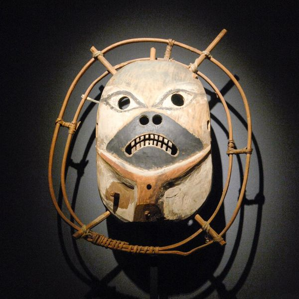 Donald Ellis Gallery - Masker, Yup'ik, Kuskokwim Rivier in Alaska
