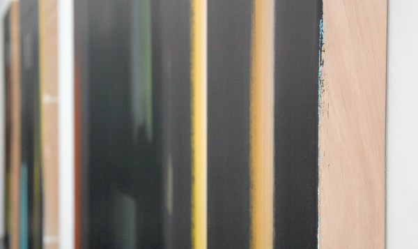 Esther Tielemans - Untitled - 210x150cm Acrylverf op paneel (detail)