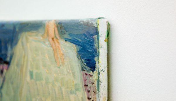 Sanne Rous - Untitled - 26x32cm Olieverf op canvas (detail)