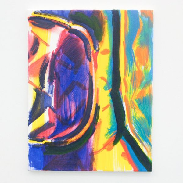 Laurens Stok - Untitled - 65x50cm Olieverf op canvas