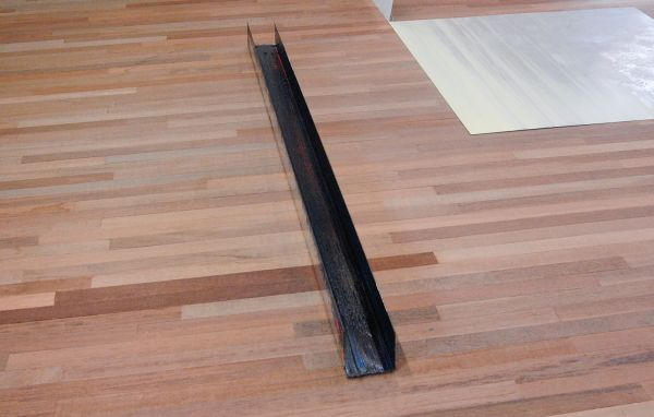 Ton Boelhouwer - Contractions & Ruptures - Olieverf op aluminium en papier (detail)