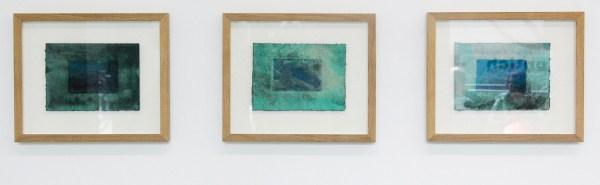 Jean-Pierre Temmerman - Bohemian Nights & Cosmo Ocean Spring & Cosmo Ocean Imagine - 25x18x4cm Inkt, waterverf en krijt o ppapier