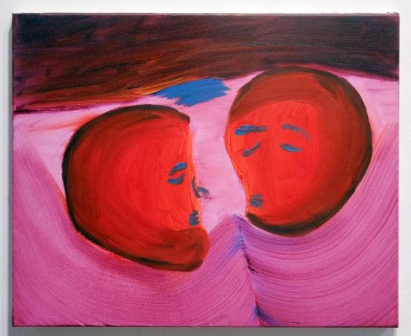 Julius Stibbe - Onbekende titel en afmetingen, Olieverf op canvas