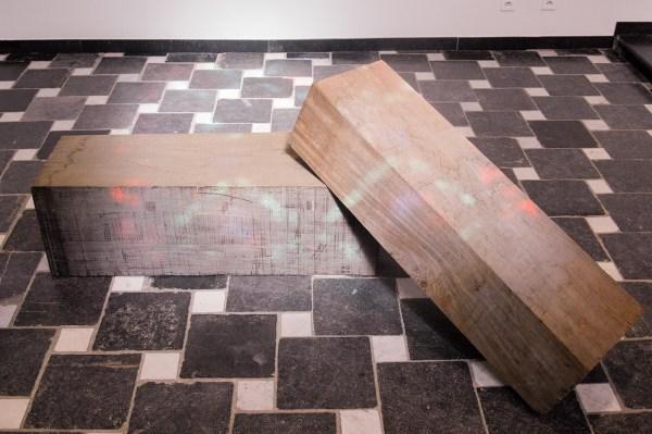 Bernd Lohaus - Ohne Titel - 71x202x90cm, Hout