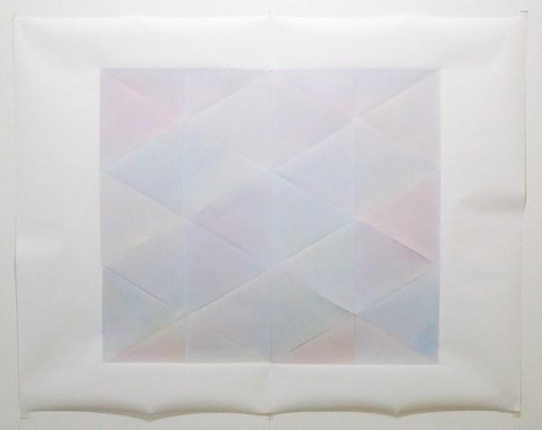 Marielle Buitendijk - Primaire kleuren, MH 342, MH 330, MH 311 - 103x132cm, Spuitbus en snedes op papier