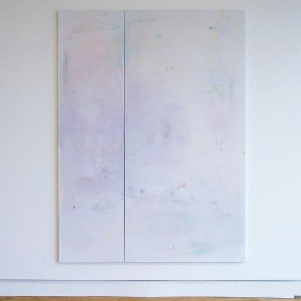 Maaike Schoorel - Droomvlucht en Engel - Olieverf op doek, 2017