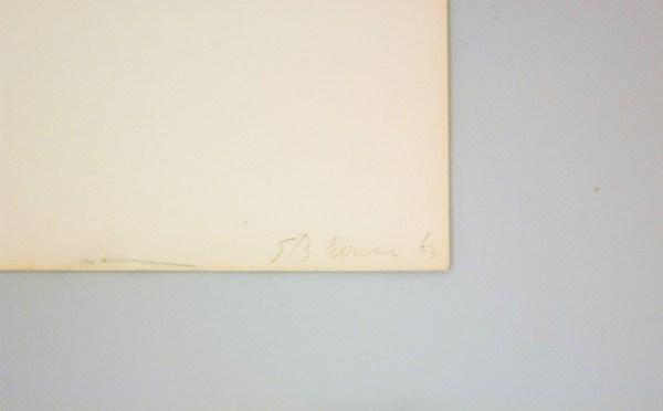 stanley brouwn - steps - Sporen op papier, 1963 (detail)