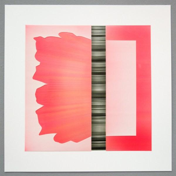 Amy Vensel - Flot - 41x41cm Acrylverf op yupo