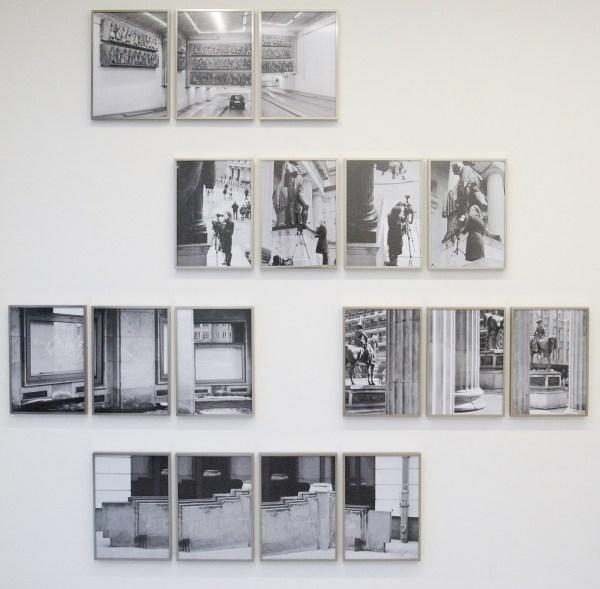 Daniel Poller - Bildbewegung (from the series Durch einfache Krafteinwirkung) - Meerluiken, elk deel 42x30cm, Achiefprint