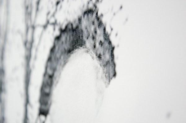 Daniel Poller - Reitkunst und Fuhrungsstil (from the series Der grosse Gewinn) - 160x110cm Handmatig bewerkte pigment print (detail)