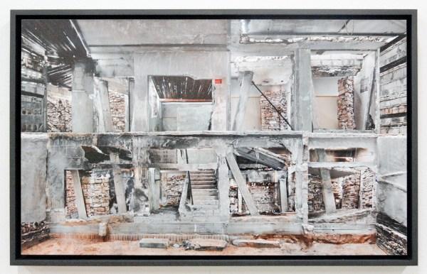 Marjan Teeuwen - Verwoest Huis Gaza III - 40x73cm Inkjetprint op dibond