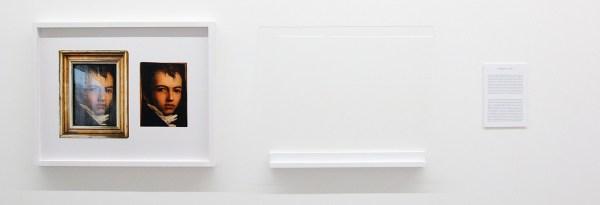 Matt Leiderstam - Durchblick - 58x73cm & 55x70cm C-print, museumglas, schap en tekstbordje