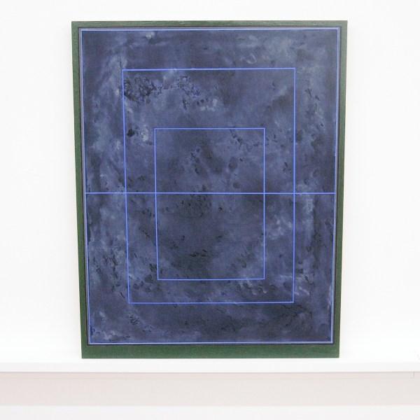 Matts Leiderstam - Panel no 9 - 43x34cm, Olieverf en acrylverf op populieren paneel