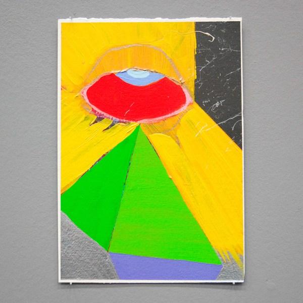 Paul Behoke - Creation Myth - 30x21cm Acrylverf op papier
