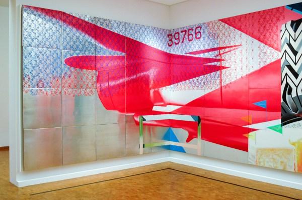 James Rosenquist - F-111 - Olieverf op canvas en aluminium