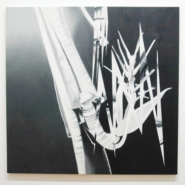 James Rosenquist - The Prickly Dark - Olieverf op canvas