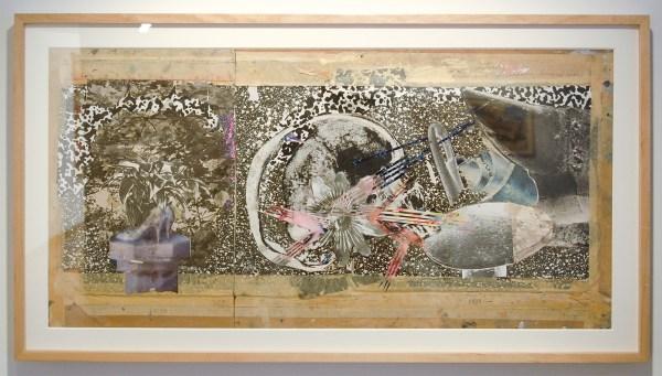 James Rosenquist - Through the Eye of the Needle and Anvil - Fotokopieen, foto's, tijdschriftafbeeldingen, geprint papier en mixed media op multiplex