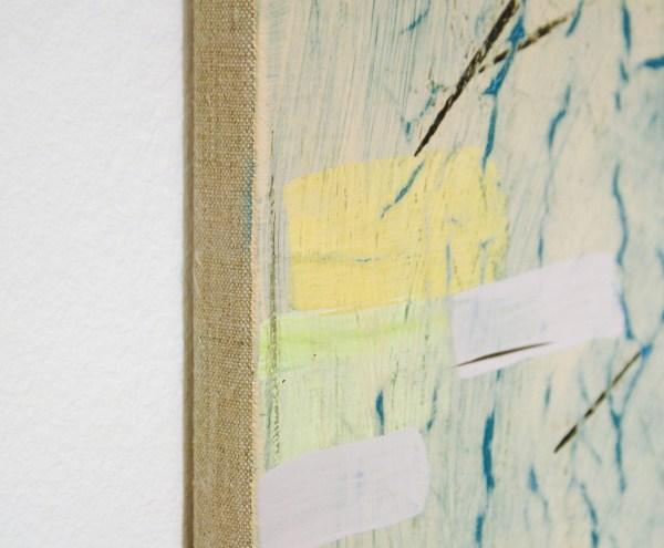 Bridget Mullen - Dutch Mud - 60x55cm Acrylverf op linnen (detail)
