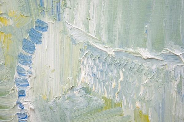 Bettie van Haaster - Zonder Titel - 45x35cm Olieverf op doek (detail)