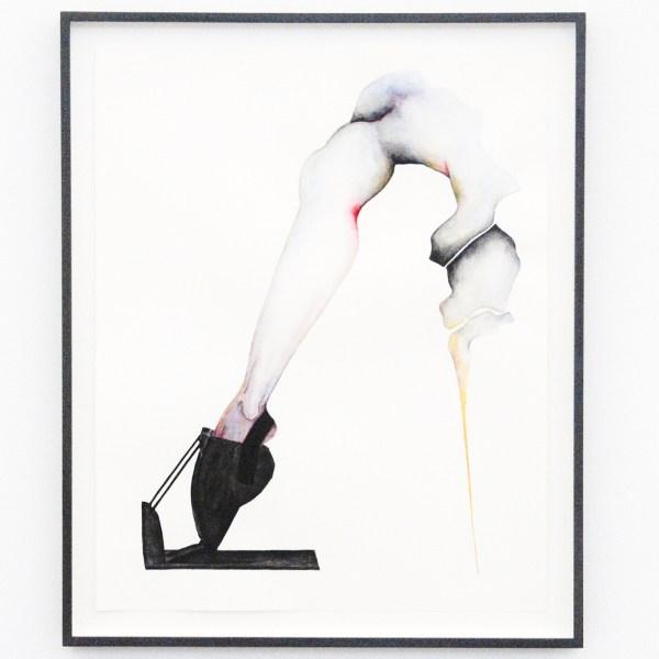 Grace Schwindt - Dance Machine - 50x40cm Aquarel en oost-indische inkt op papier