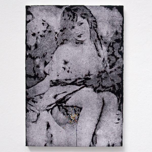 Berend Strik - Memory of MD - Geborduurde C-Print