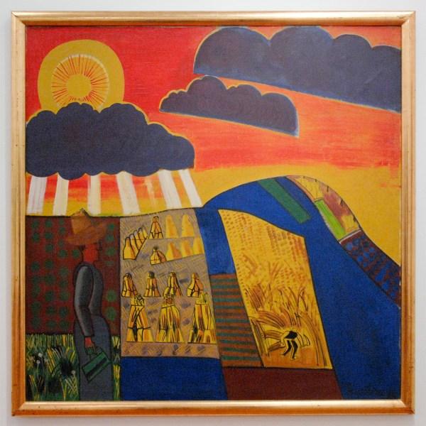 Jean Brusselmans - La Moisson (De Oogst) - Olieverf op doek, 1934