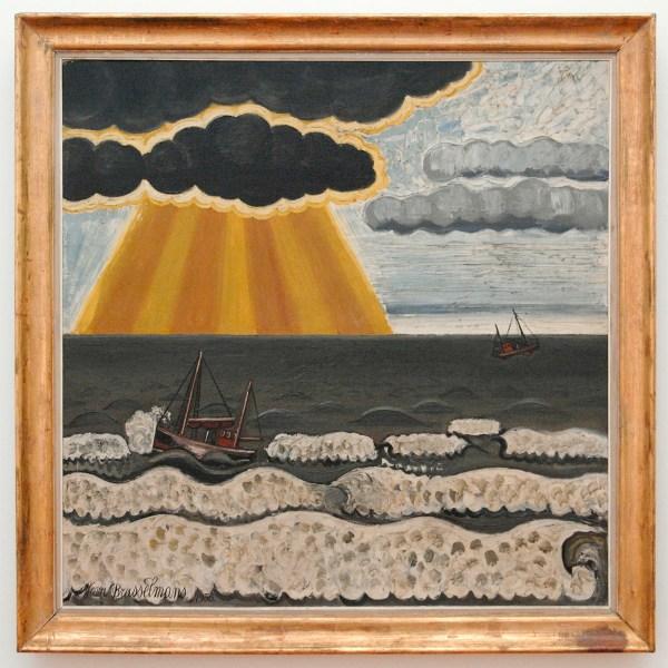 Jean Brusselmans - La Tempete (De Storm) - Olieverf op doek, 1936