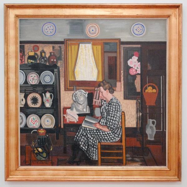 Jean Brusselmans - Le Grand Interieur (Het Grote Interieur) - Olieverf op doek, 1939