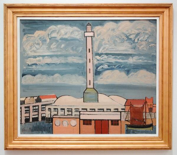 Jean Brusselmans - Le Phare D'Ostende (De Vuurtorn van Oostende) - Olieverf op doek, 1936