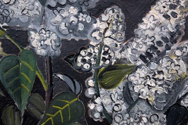 Jean Brusselmans - Lilas (Seringen) - Olieverf op doek, 1931 (detail)