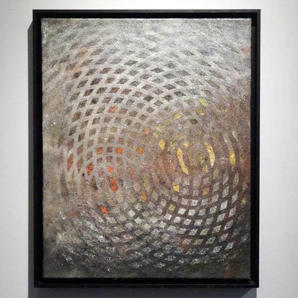 Frank Ammerlaan - Anechoic #2 - 75x60cm, Metaldeeltjes op canvas