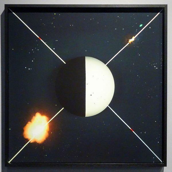 Jennifer Tee - Ether Plane - Material Plane - 67x67cm Etspapier
