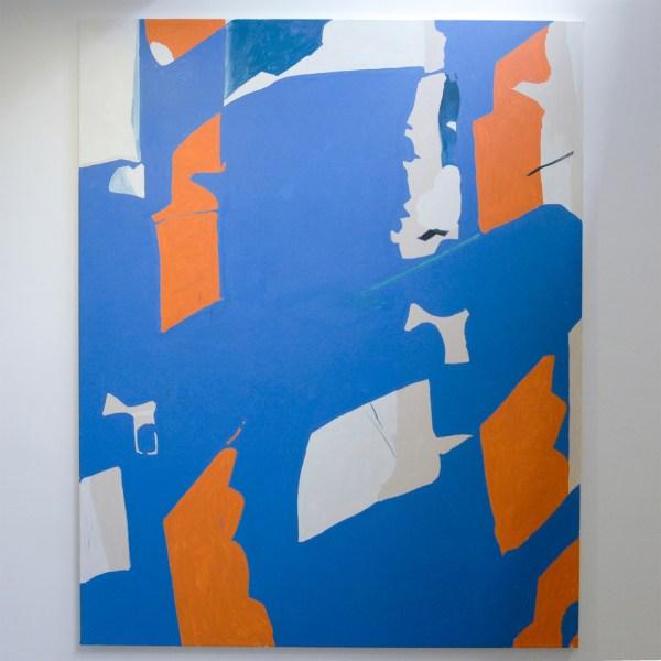 Ron Mandos - Koen van den Broek - Flock #2 - 250x200cm Olieverf op canvas