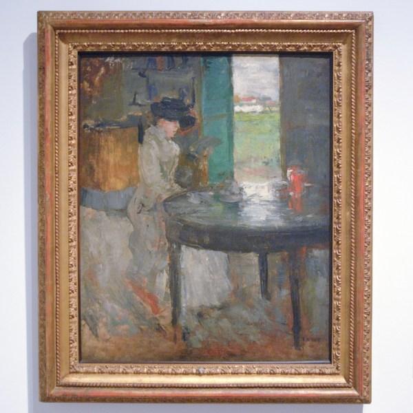 James Ensor - Het Wachten - Olieverf op doek, 1879, en of 1882